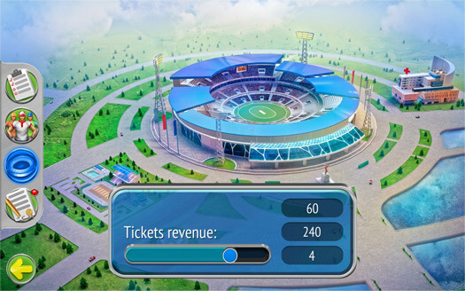 Sports game development by Game-Ace for Cricket