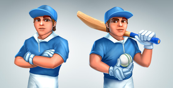 Cricket Manager character creation services