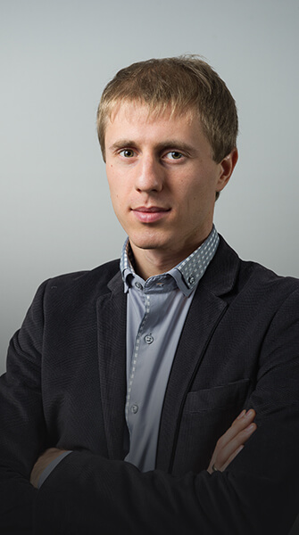 Oleksii Burkun, Director of Development