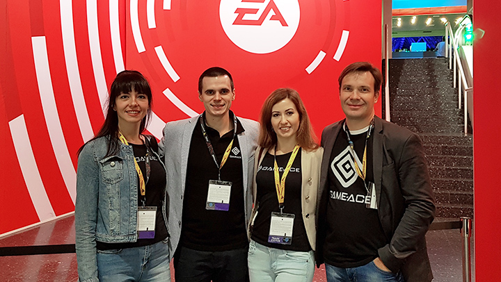 Game-Ace meets Electronic Arts