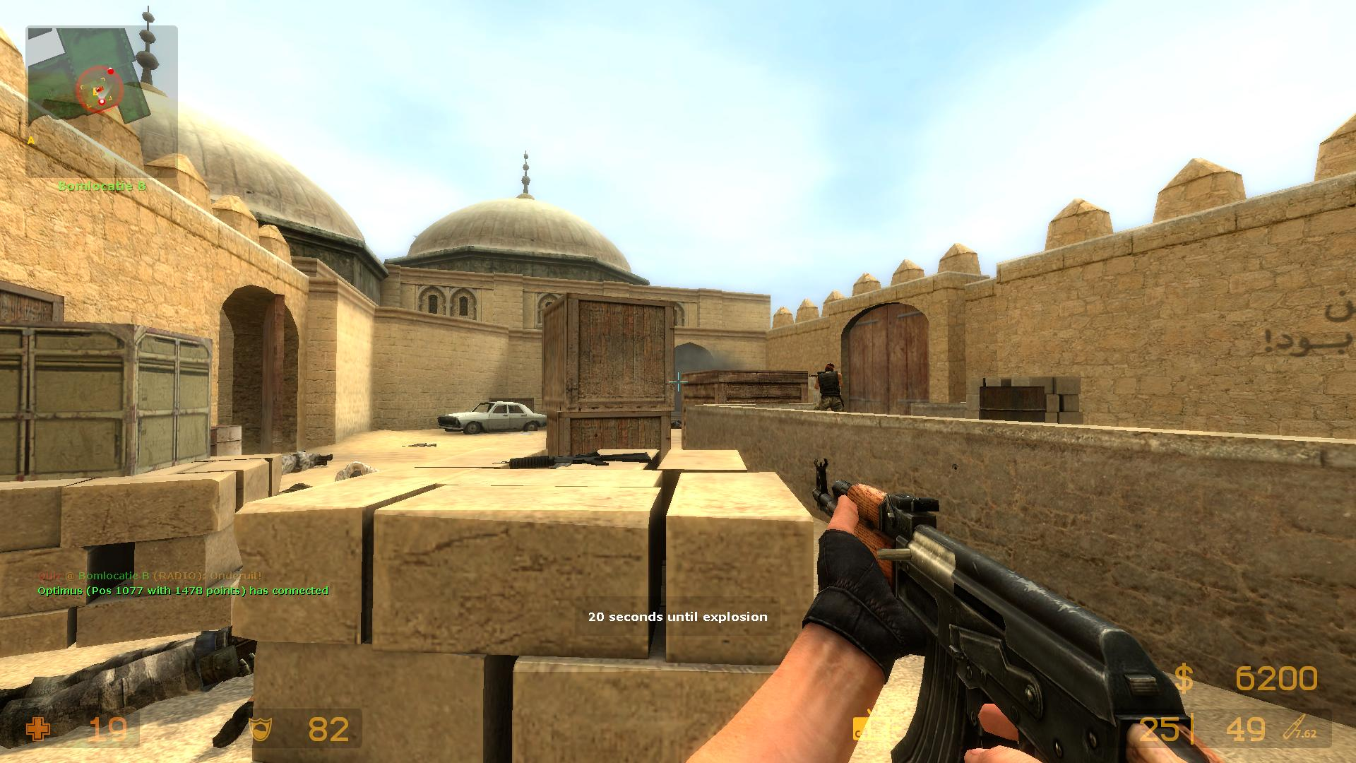 Counter-strike, a first-person shooter