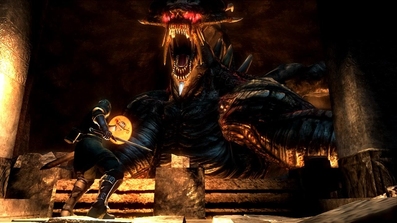 The boss of demon's souls