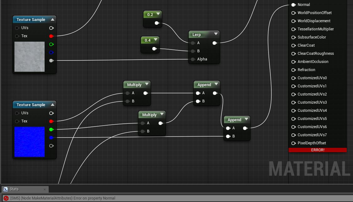 Unreal game development: Material Editor