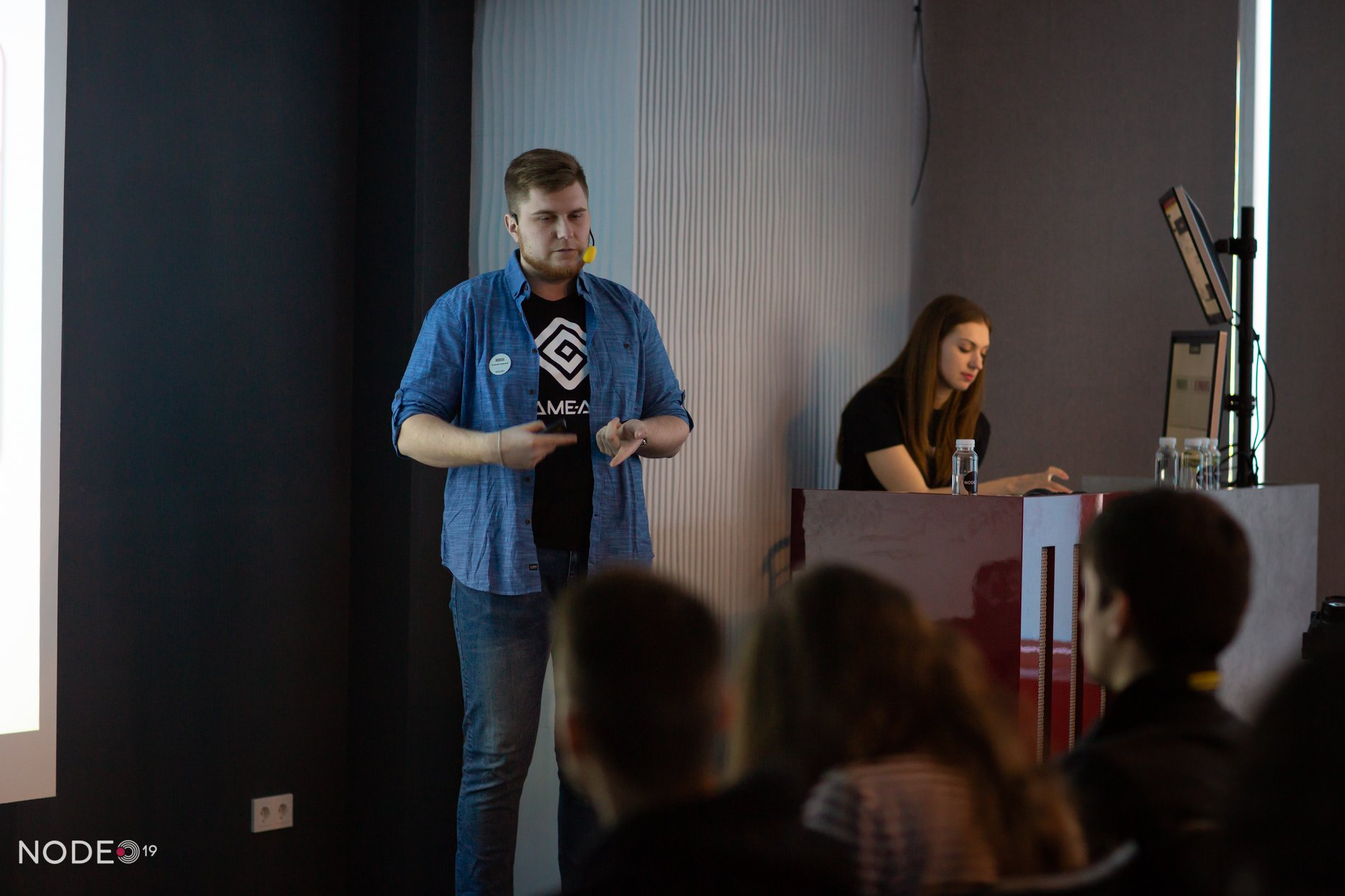 Game-Ace at Node Game dev connference 2019, photo 01