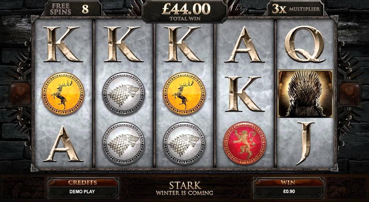 slot game font