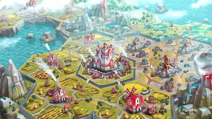 Hexagonium MMO mobile game