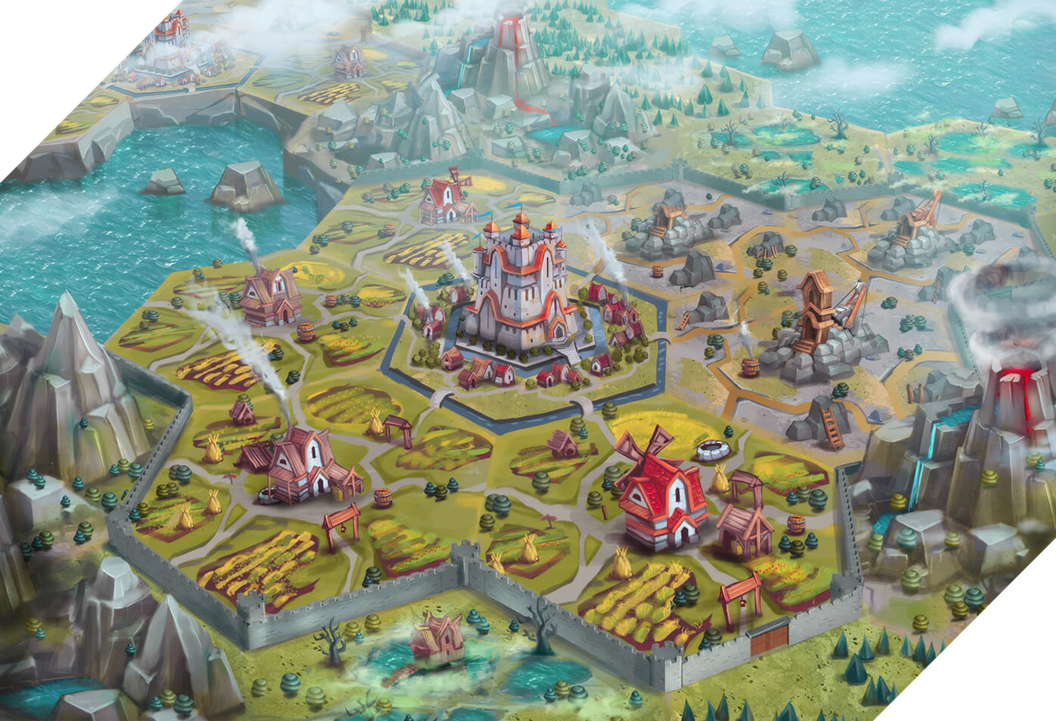 Locations concept art