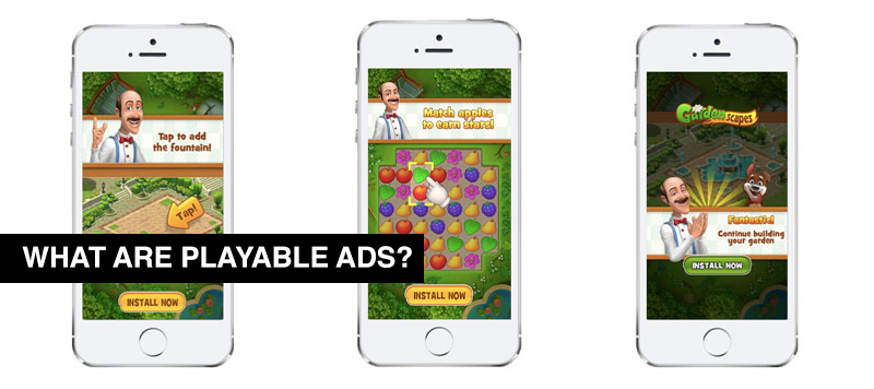 What are playable ads