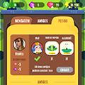 Flat game UI