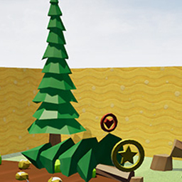 Low-poly game environments