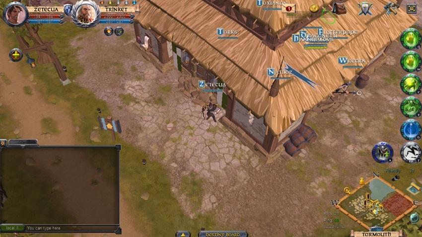 Low-poly RPG game