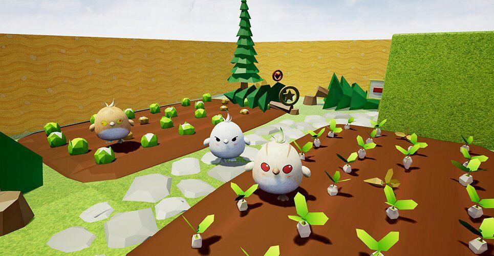 3d environment Star Archer VR